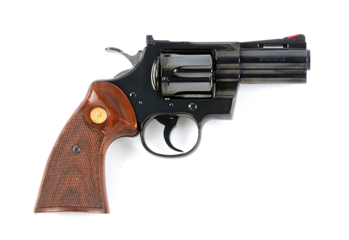 "Colt 3"" Python Double Action Revolver With Factory Letter"