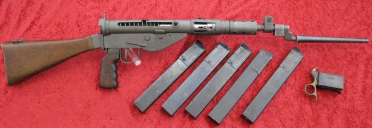 STEN MK V 9mm submachine gun $5,225