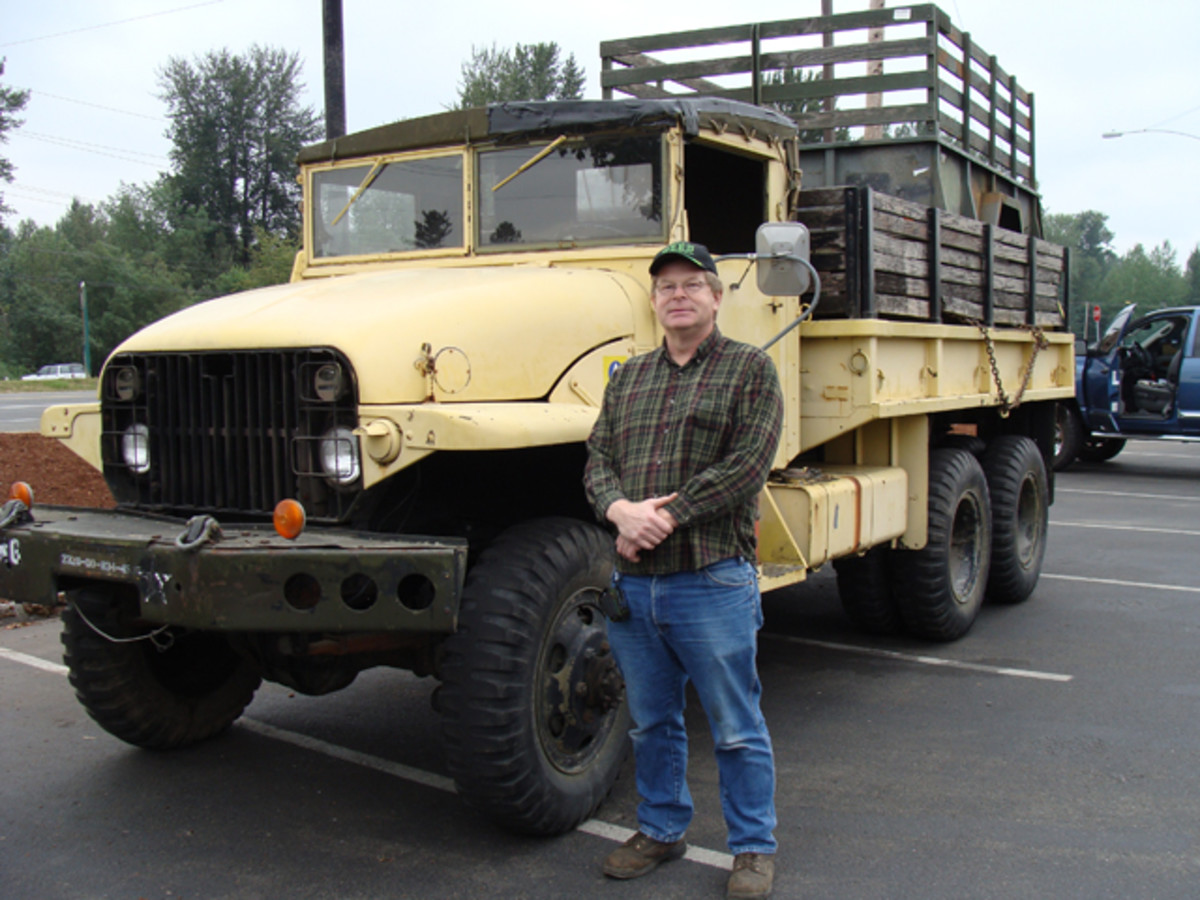 "When the ""OD bug"" bit Chris Phillips, he knew he wanted an M211 deuce-and a half. He found one that had seen service in the U.S. Army, National Guard and Civil Defense—it was love at first sight!"