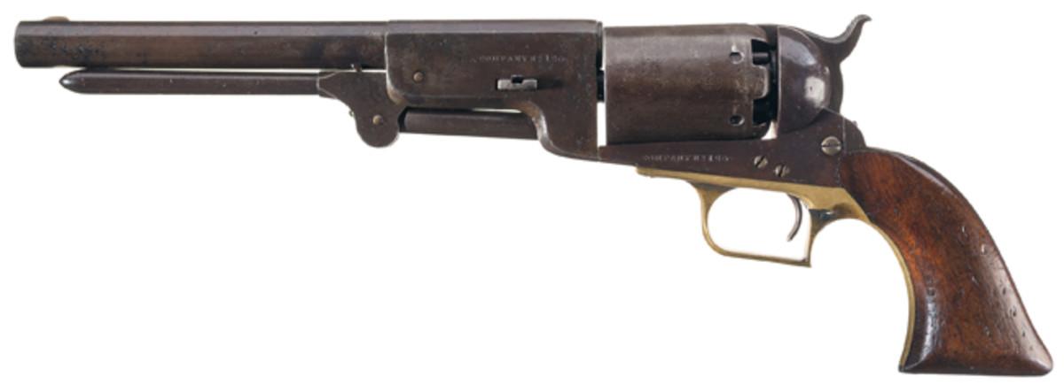 Colt Company A No. 126 Walker Model Percussion Revolver