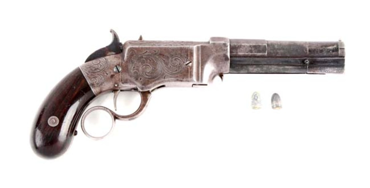 Fine Smith & Wesson Volcanic Repeating Small Frame Pistol
