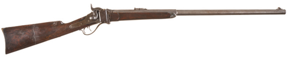 LOT4117 - Sharps Model 1869 Sporting Rifle with Factory Letter