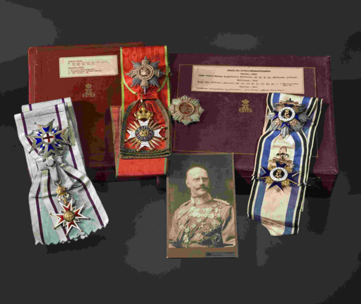 Prince Alfons of Bavaria –Knightly House Order of St. George,.1880.