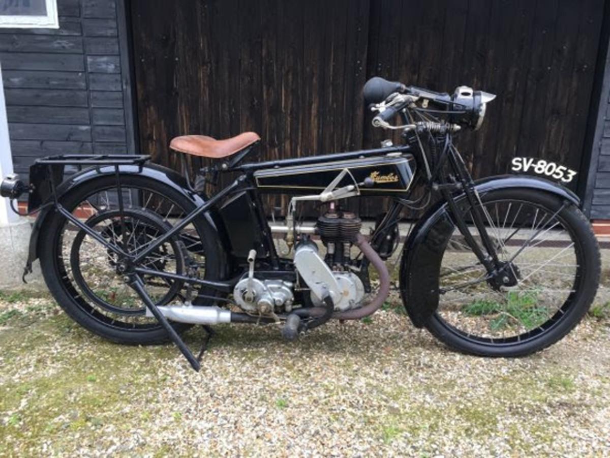 1924 Humber 350