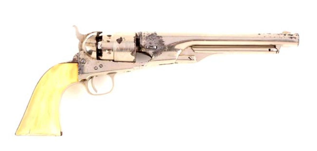 Colt Model 1860 Army Single Action Revolver Inscribed to Buffalo Bill Cody