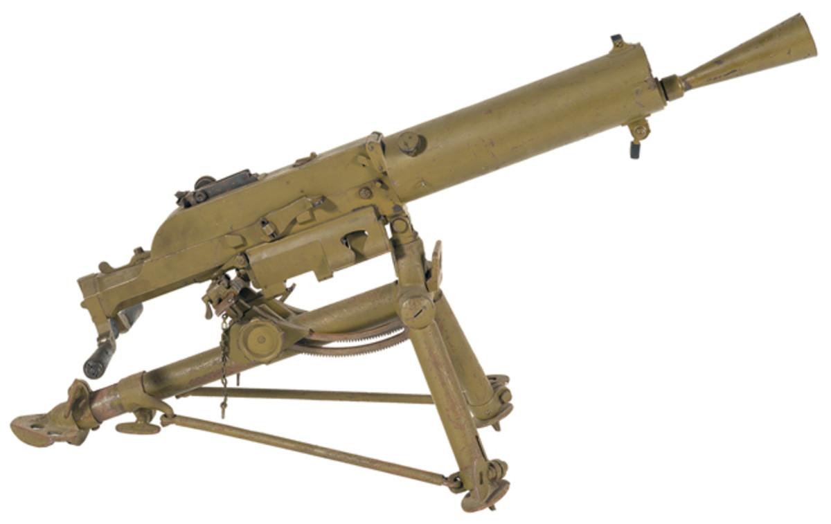 LOT547 - Steyr Schwartzlose Model 07/12 Machine Gun with Tripod