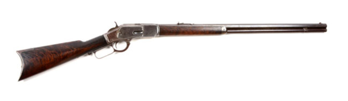 Model 1873 Winchester Inscribed to W.F. Cody