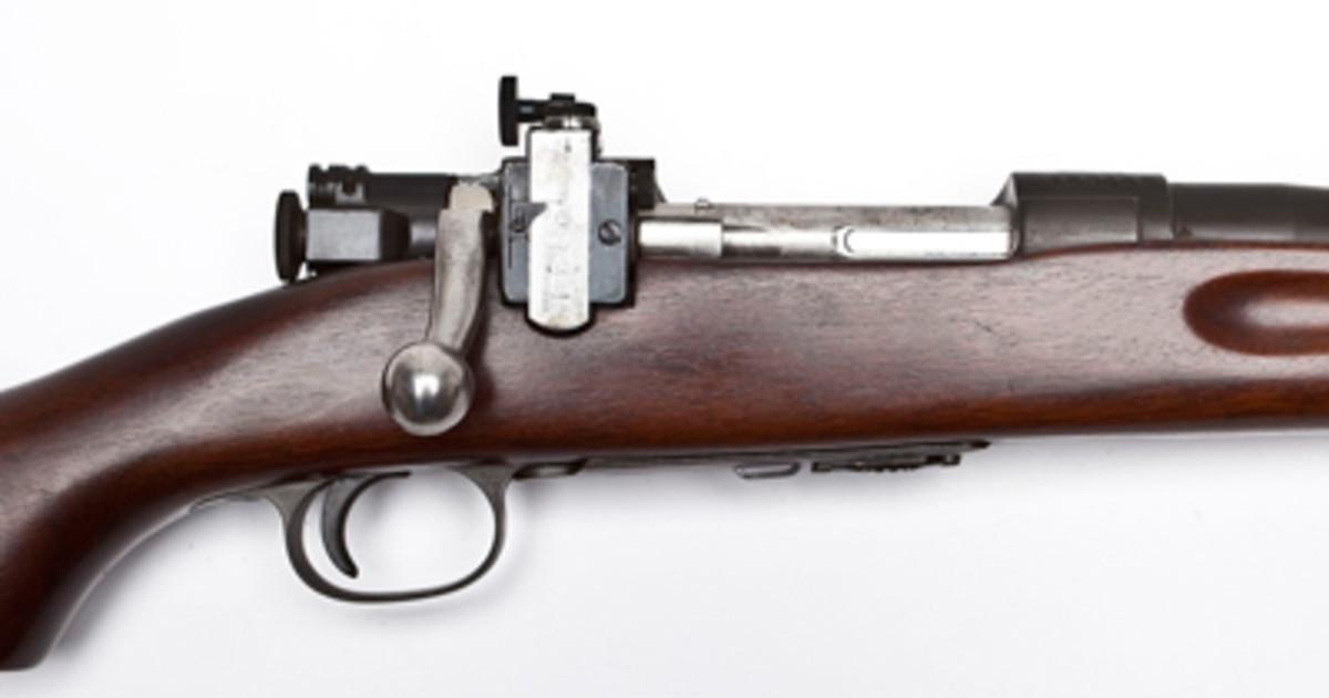 US Springfield Model 1922 M2 Rifle ($1,800).