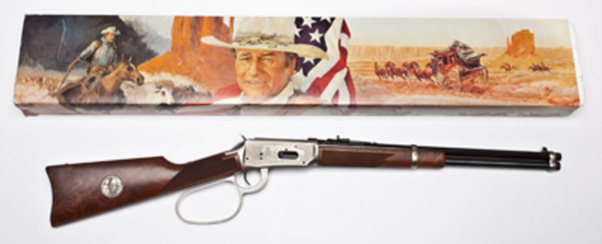 Winchester Model 94 John Wayne Commemorative ($1,200).