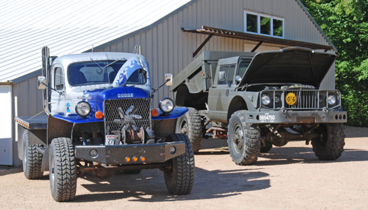 """""""Purity"""" in our hobby doesn't have to exist in a vacuum. There is plenty of road available for tricked-out Power Wagons and M715s to drive alongside meticulously restored M37s. If we figure out ways were our hobbies can overlap, we will be able to present an appealing options to new participants. It may be a strategy that is hard to embrace, but it is worth considering."""