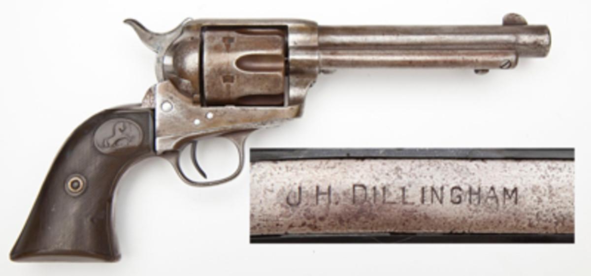 Sheriff Dillingham Marked Colt SA Army & Ensemble ($5,500)