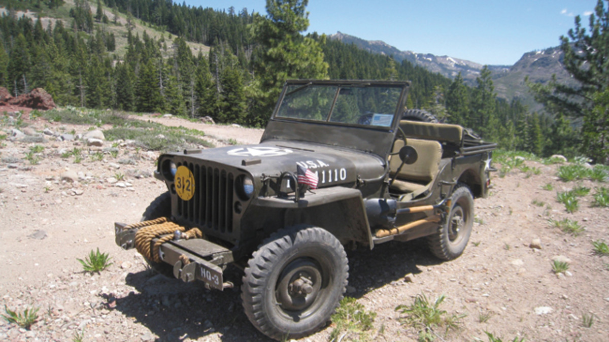 Jon Weatherwax bought this 1942 MB from a Ranger in north California. Today, it continues in service providing family trail rides and beach runs.