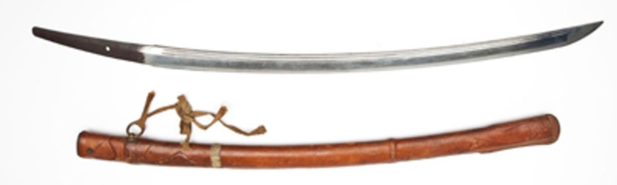 16th Century Japanese Samurai Sword ($3,600).