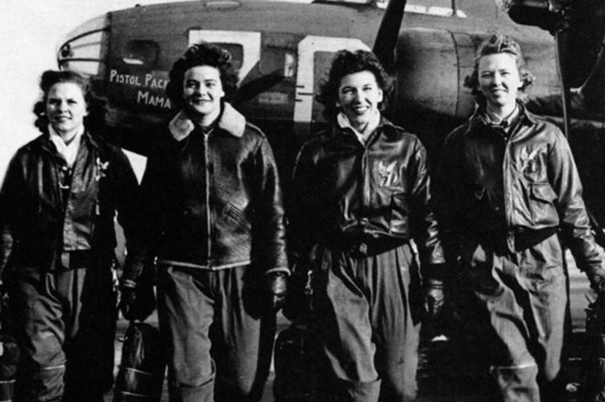 More than 1,000 Women Airforce Service Pilots (WASP) served during World War II, flying more than 60 million miles in every type of military aircraft. (US Air Force)