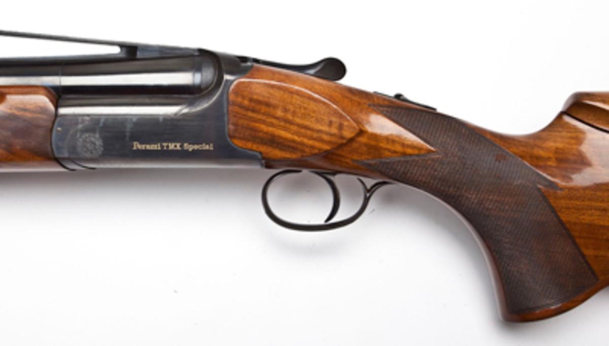 Perazzi TMX Special Trap Shotgun ($2,100).