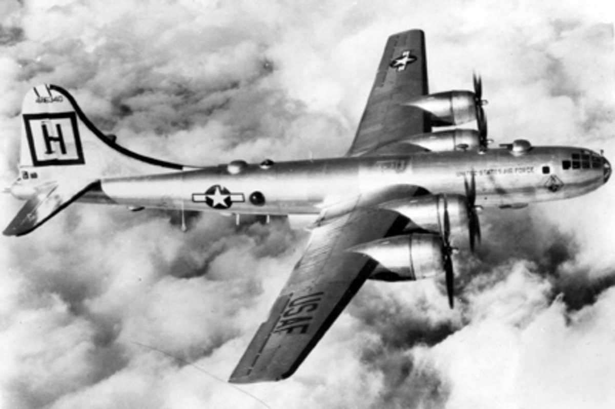 Boeing B-29. (U.S. Air Force photo)