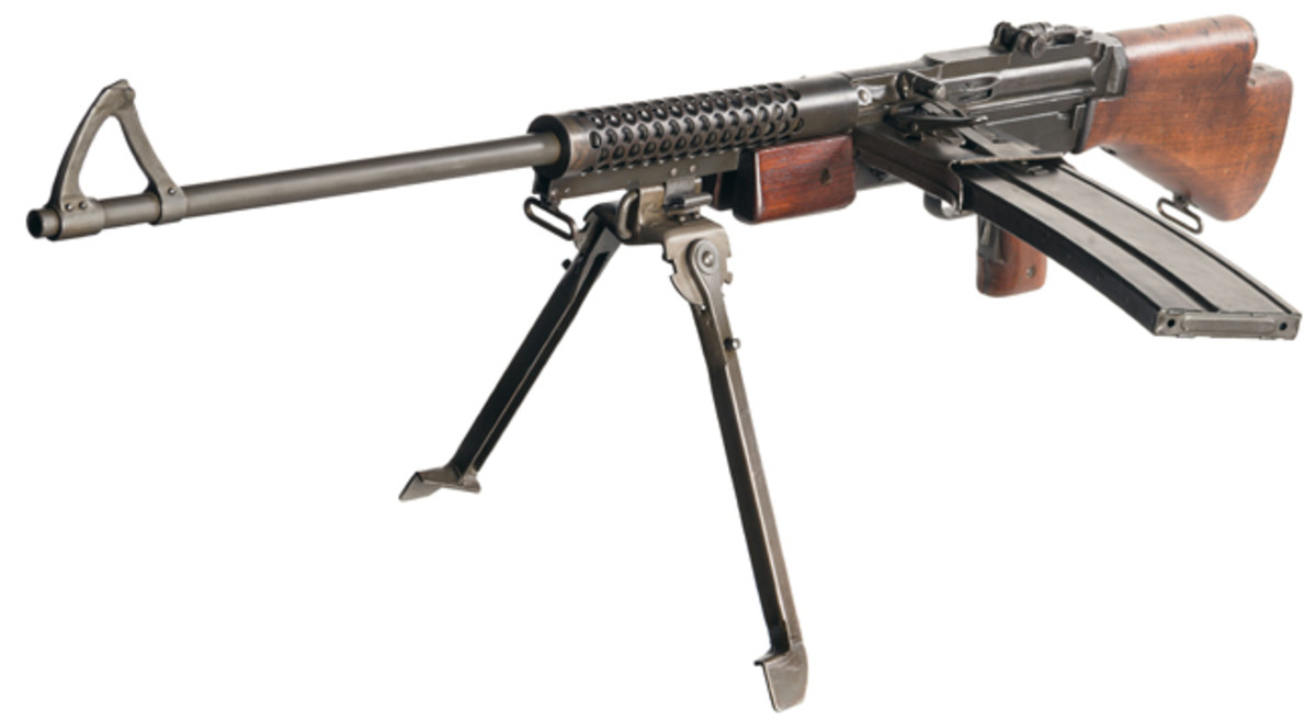 Early World War II Fully Automatic Class III/NFA C&R Johnson M1941 Light Machine Gun with Two Magazines SOLD $63,250