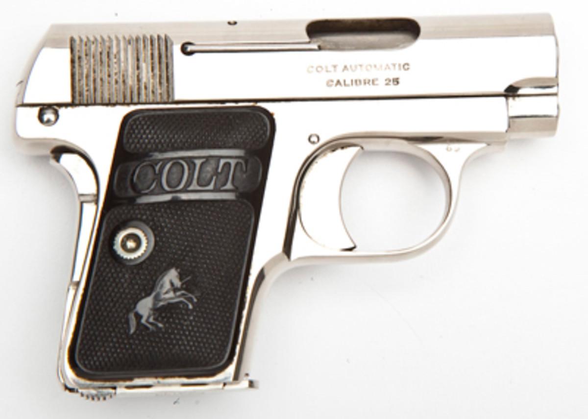 Colt Model 1908 Vest Pocket Pistol ($700)