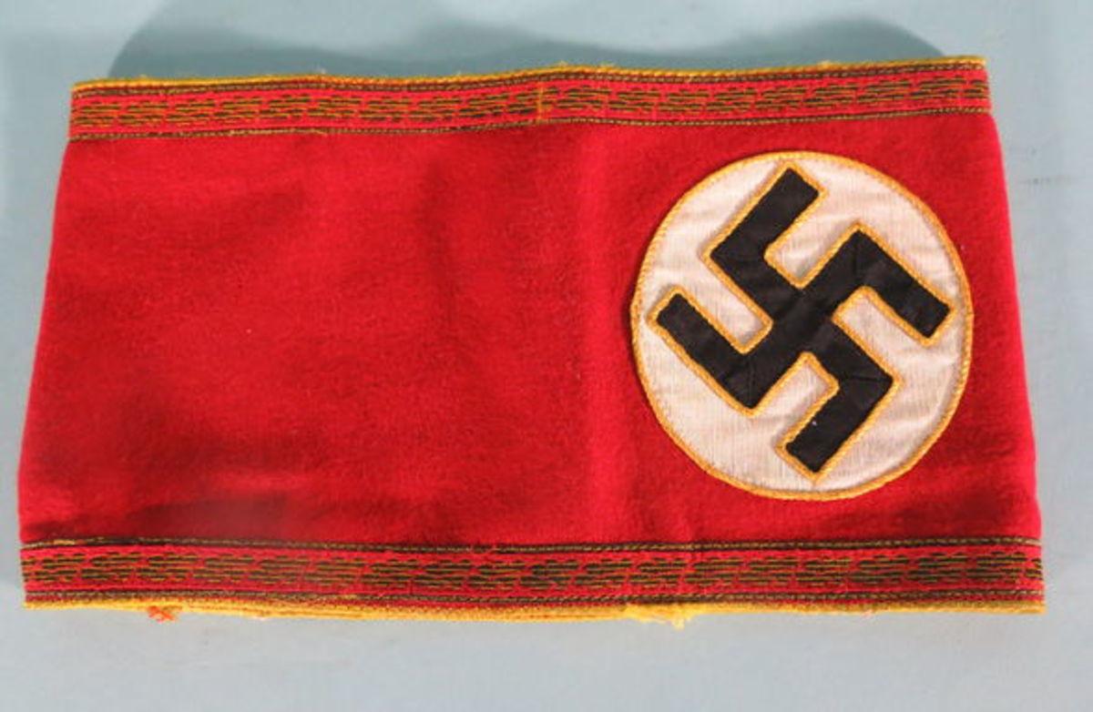 Lot 74. German high leader arm band