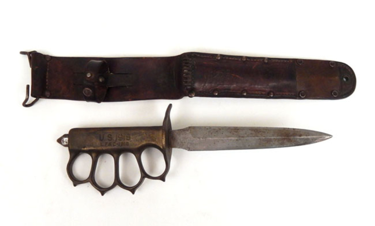 Rare WWI government-issue trench knife