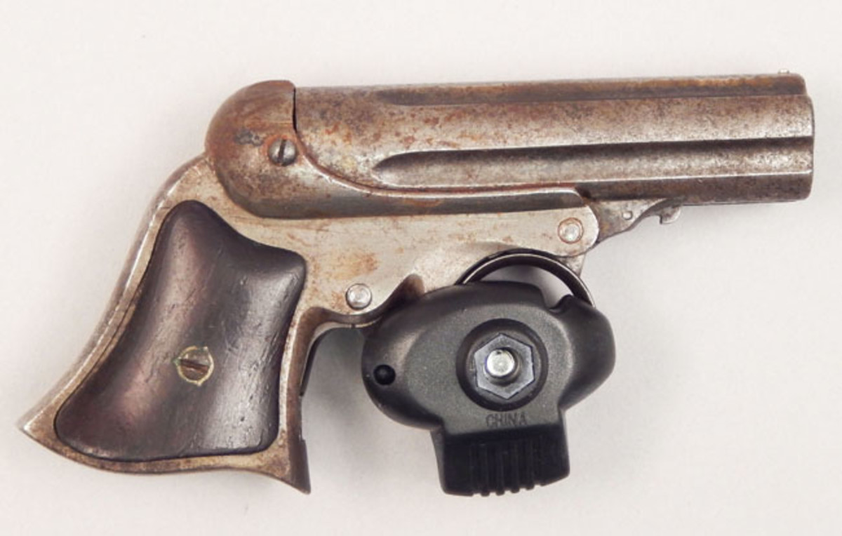 E. Remington & Sons black powder .22-caliber pistol
