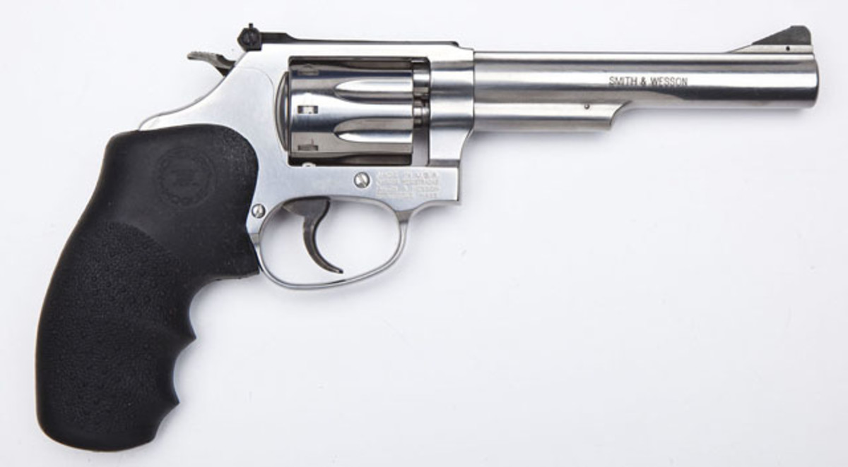 Smith & Wesson Model 63-4 Revolver with 5 inch Barrel ($600)