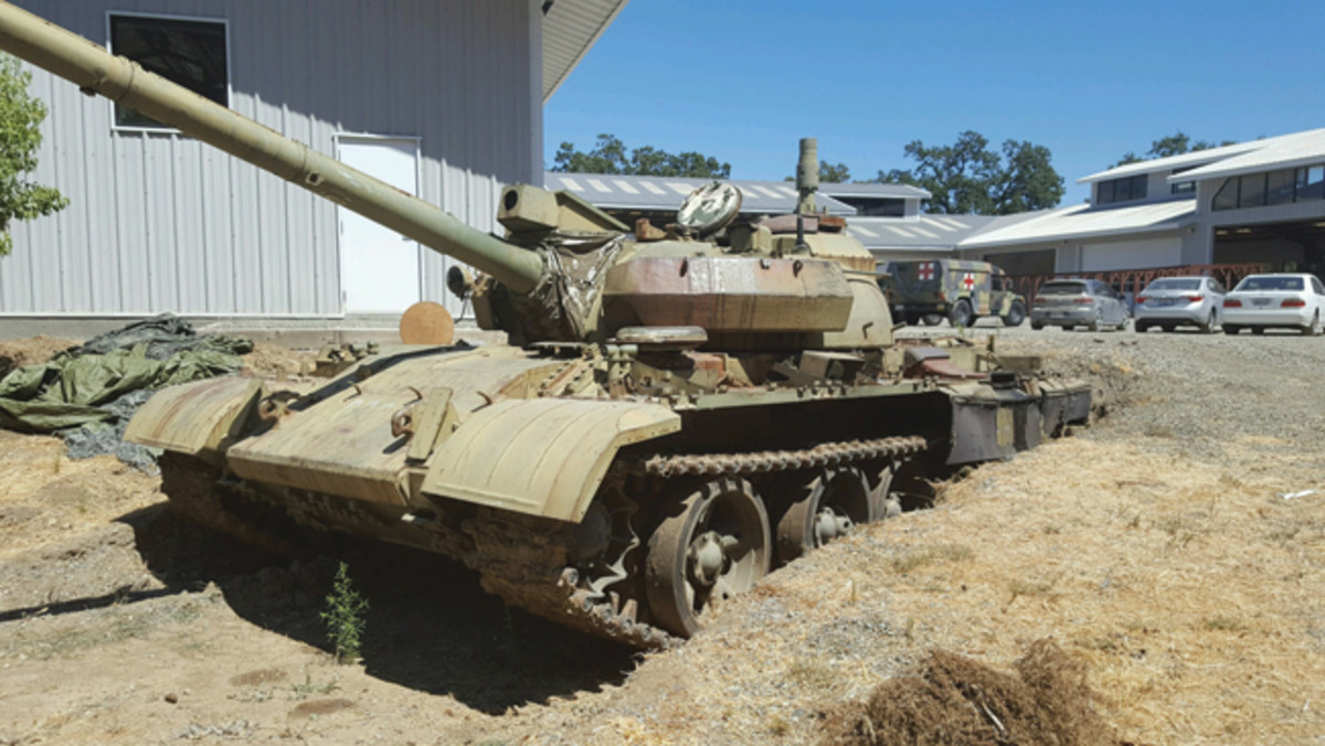 The T-55 was part Jacques Littlefield's former collection.