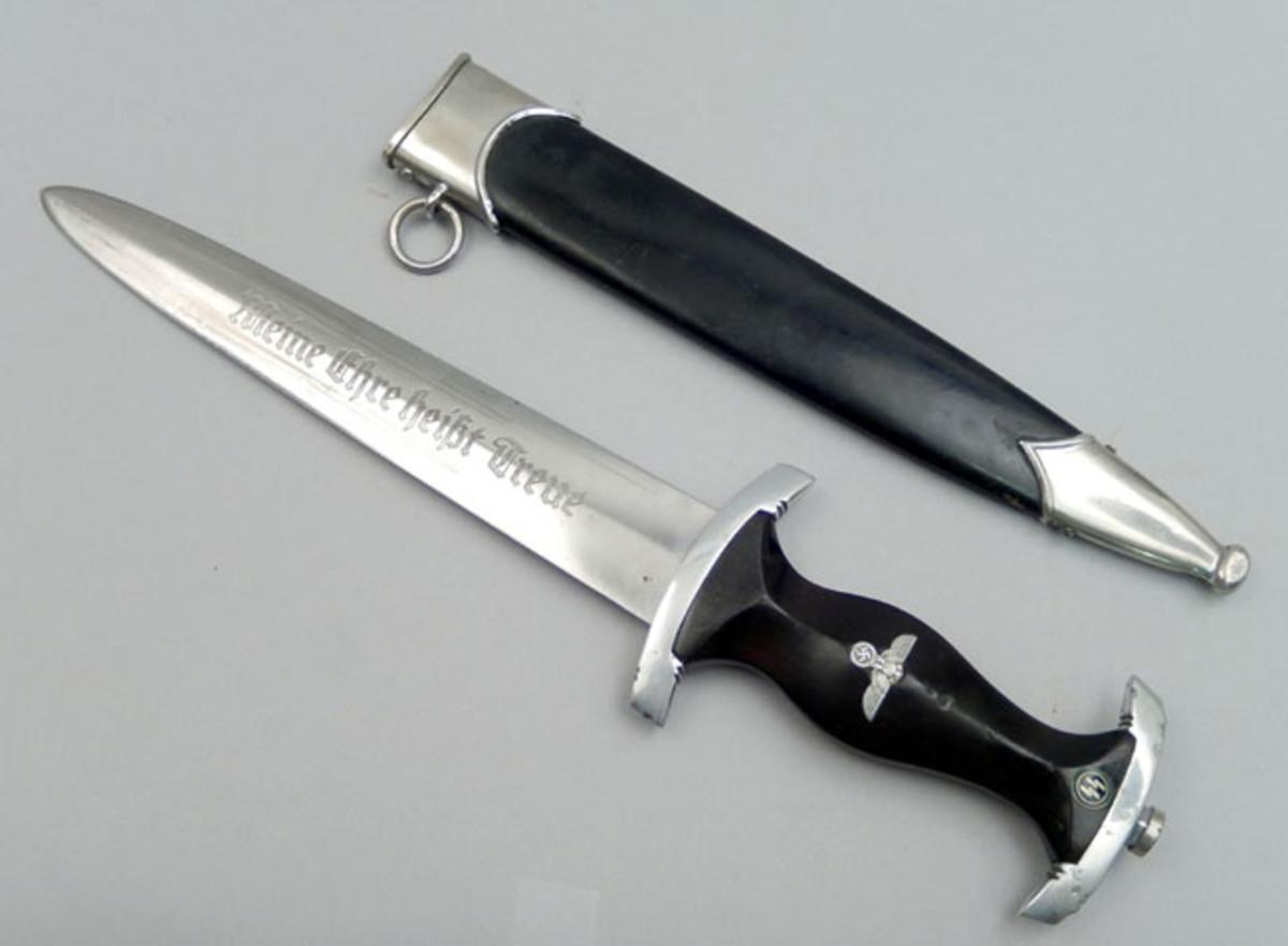 WWII SS-type black dagger