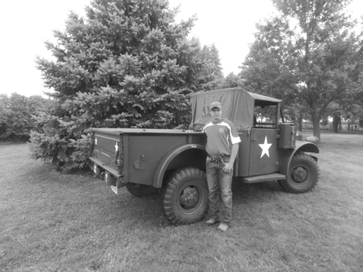 When just 15 years old, Dawson Ducommun decided he wanted to restore a military vehicle for his 4-H project. He and his dad found an M37 for $3,800. They calculated a budget and figured they would have to spend an additional $5,000 in parts (a budget they were able to successfully keep!). It was all of Dawson's sweat equity that they hadn't counted on.In the end, it paid off — his truck got a First Place at the Cherokee County Fair and advanced to the Iowa State Fair.