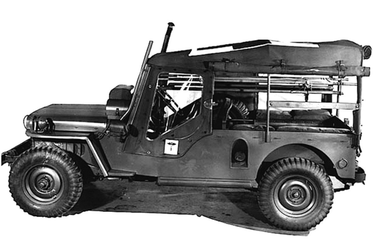 Jeeps had proved themselves very capable ambulance vehicles during WWII. Therefore, the U.S. Military contracted Willys Motors to design dedicated ambulance models following WWII. Among the first prototypes was a long wheelbase M38.