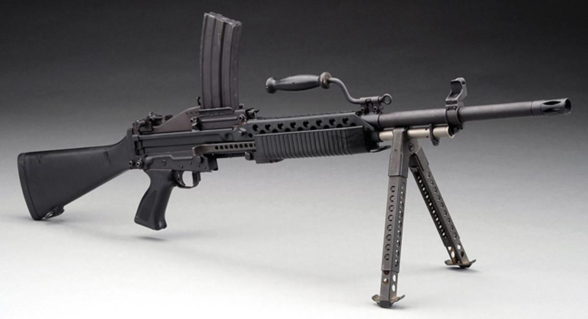 scarce Knight's Armament Company Stoner 63A machine gun