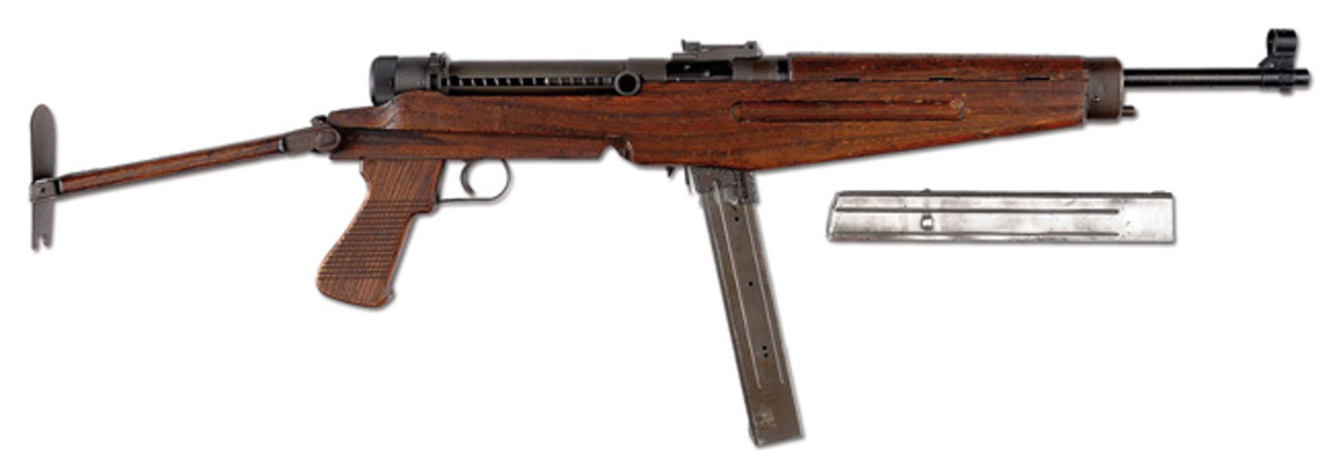 WWII Hungarian Model 43M machine gun