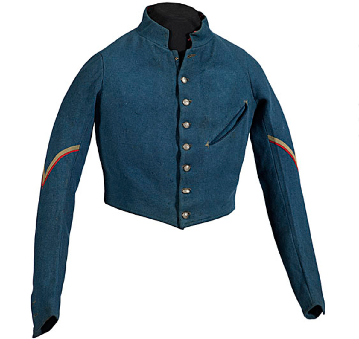 U.S. Army Infantry Mexican War Shell Jacket of Edward O'Brien. Price Realized: $16,100.