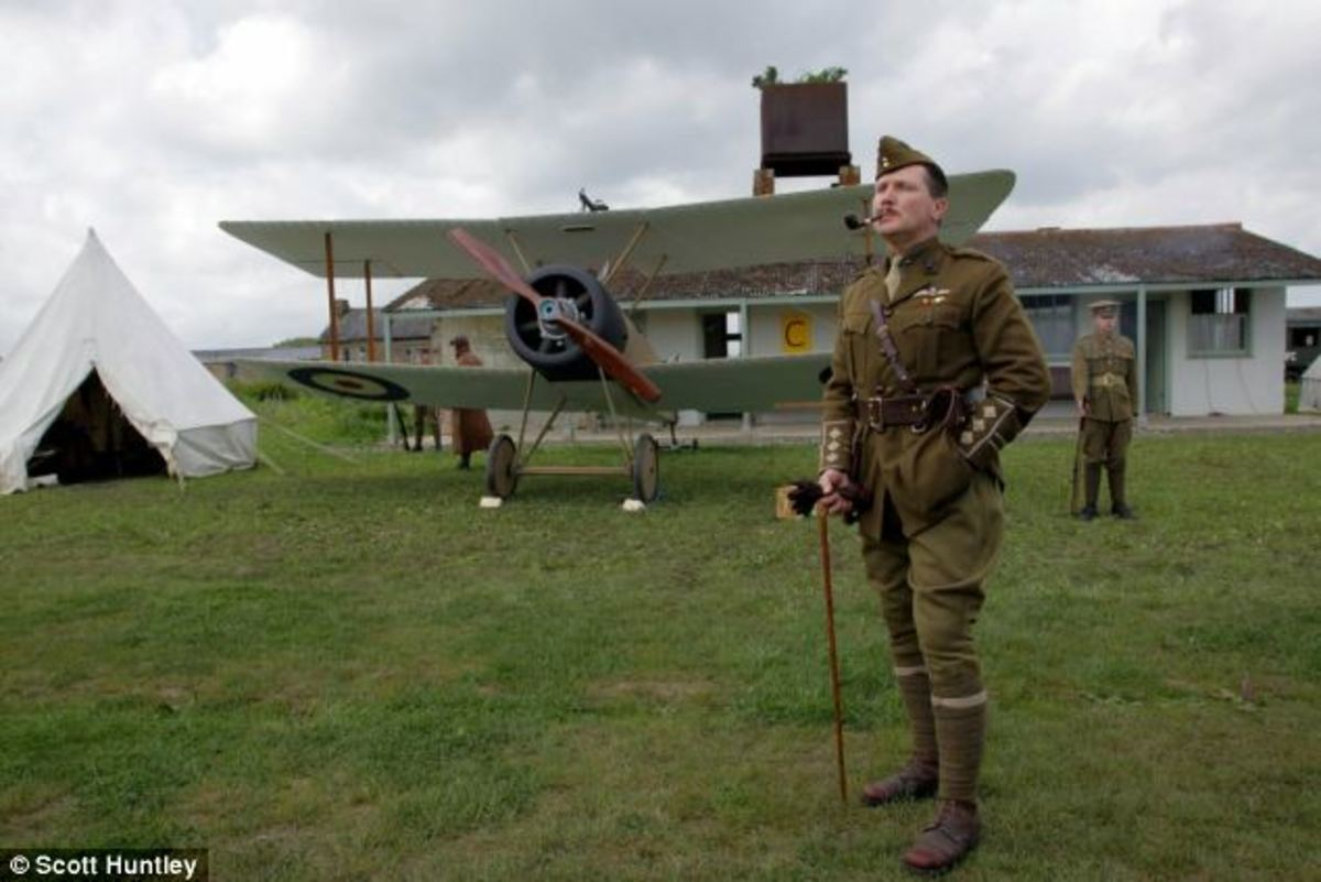 For sale: The world's only complete WW1 aerodrome in original form, is up for sale for £2 million, near Maldon, Chelmsford, Essex.