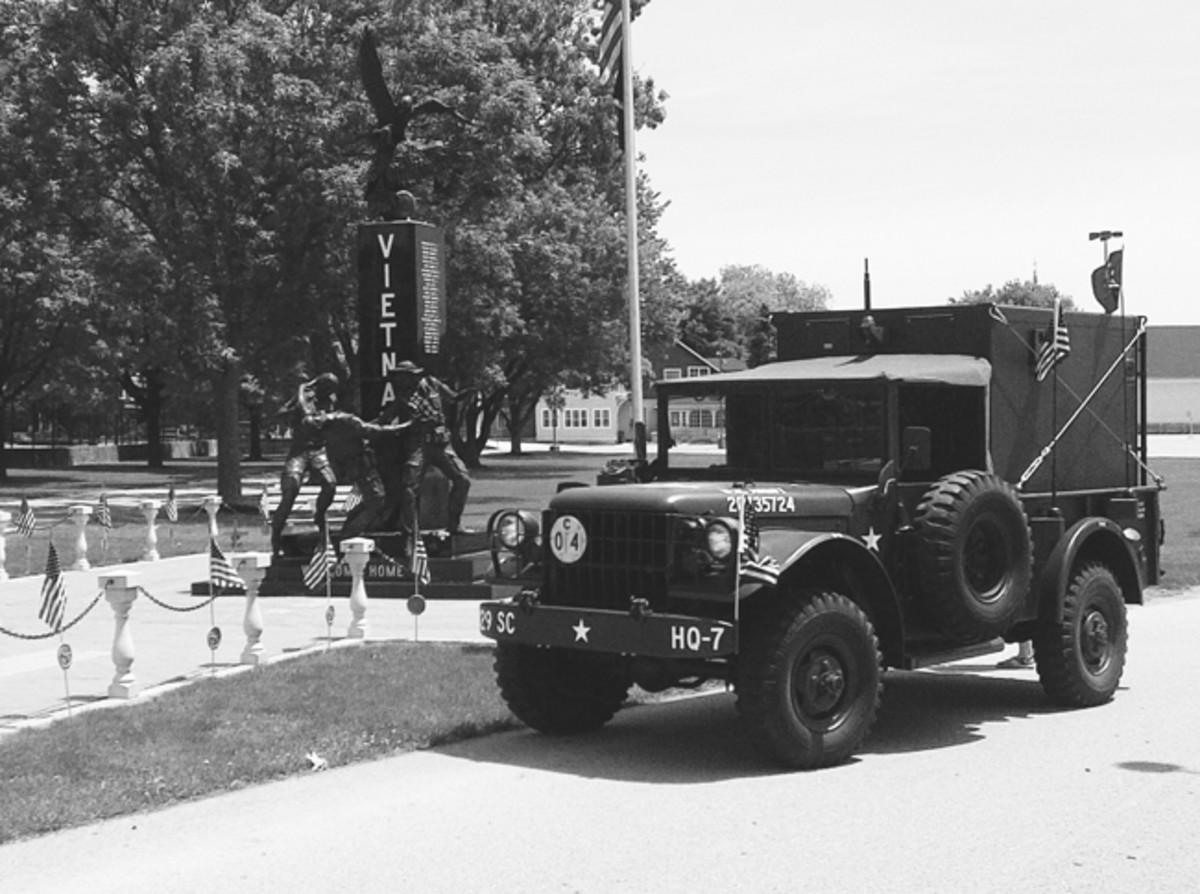 Ronald L Boltz's 1952 M37 with AN/GRC-46C.
