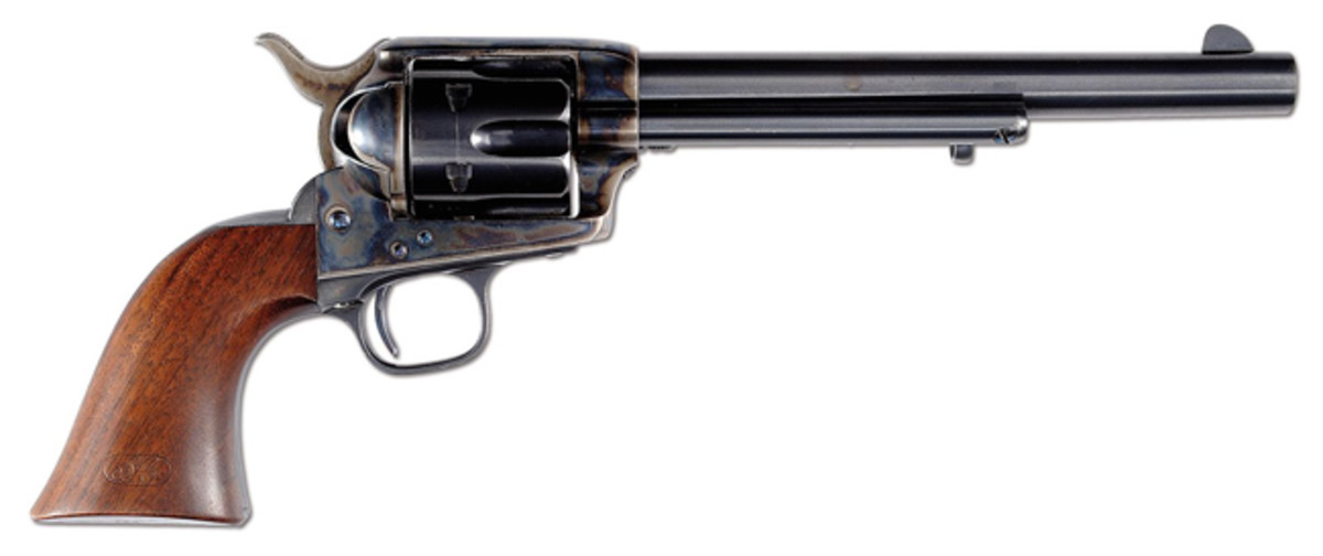 Colt Single Action Arm revolver, J.T.C. inspected for 1876