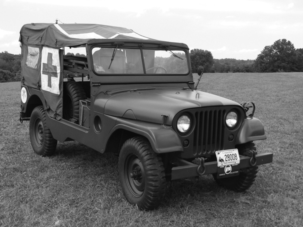 "Too many Jeep histories overlook the significance of the M170, the battlefield ambulance of the G-758 series. Known as the ""MD-A"" in Willys nomenclature, the M170 is the among the hardest to find of post-WWII Jeeps, and one of the most difficult to completely restore."
