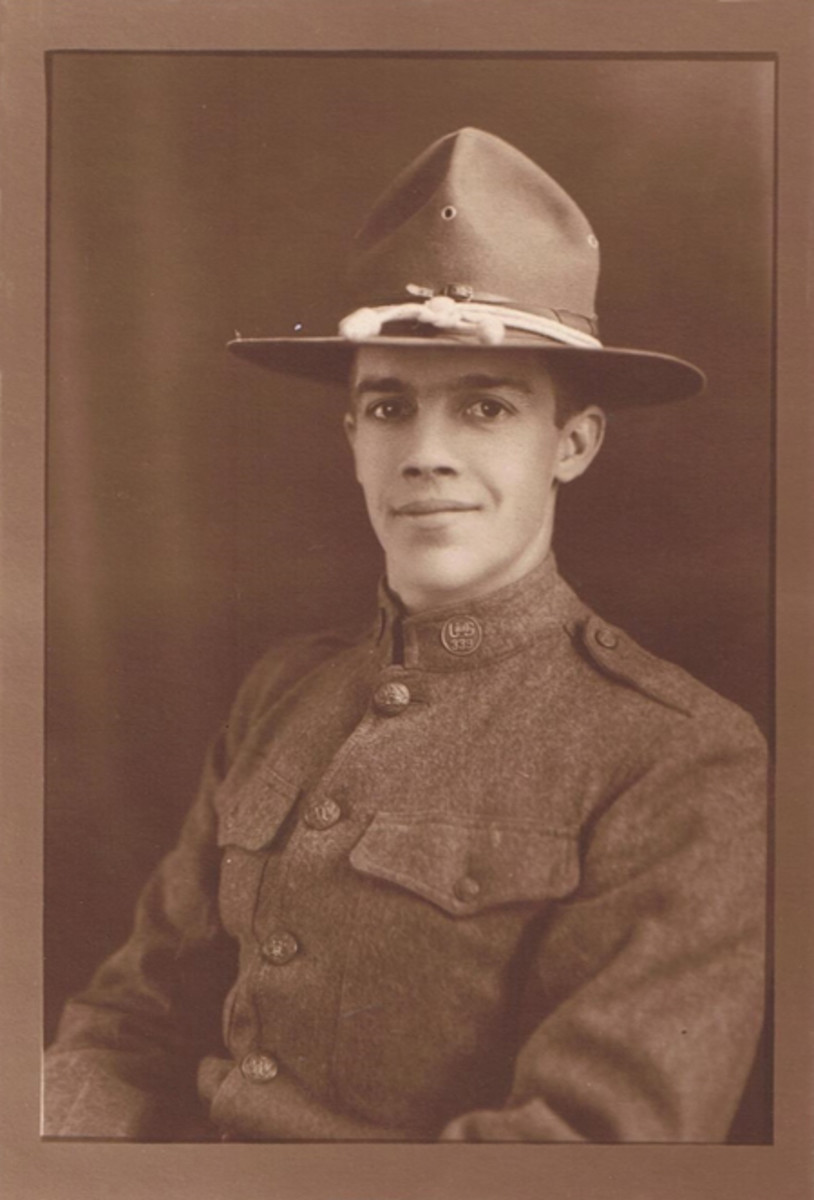 """Glenn L. Niccum — a """"Polar Bear"""" from Detroit who served in North Russia during WWI."""
