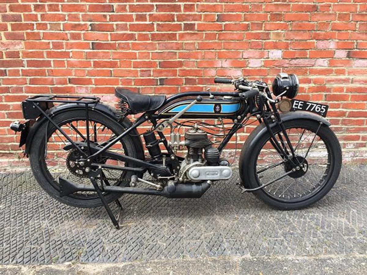 1928 Triumph Model NP