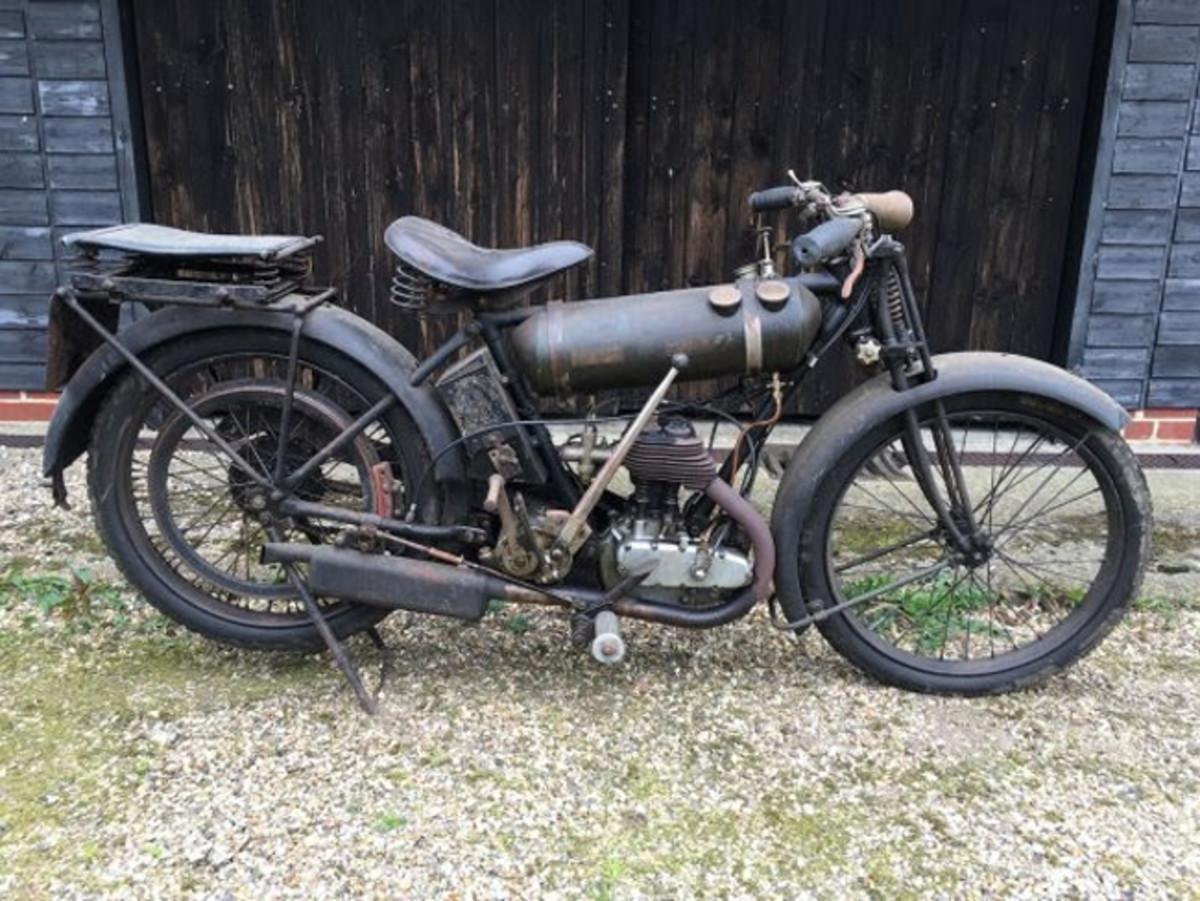 1924 BSA Roundtank