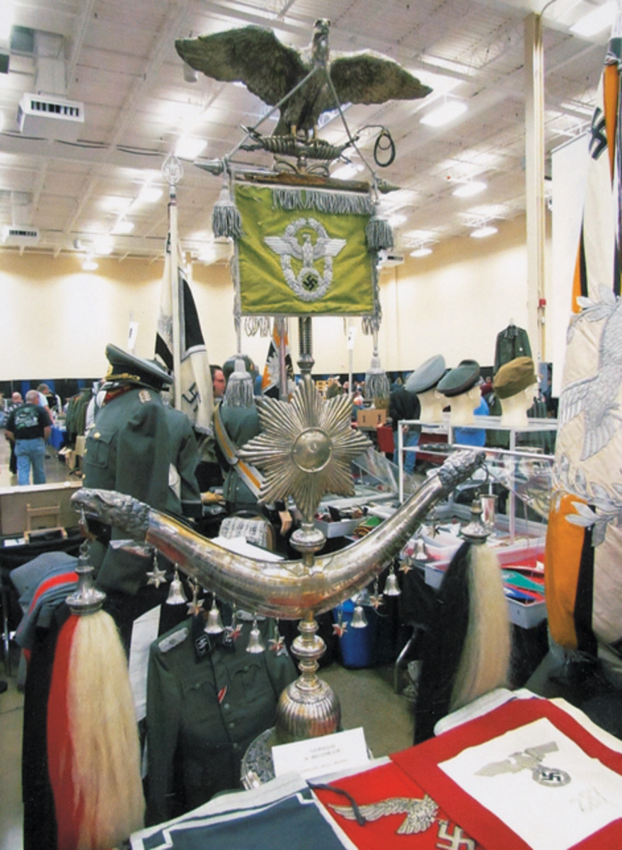 "A one-of-a kind german police ""Jingling Johnnie"" was for sale at the 2011 MAX Show. Be sure to attend this year to see what great treasures are offered for sale!"