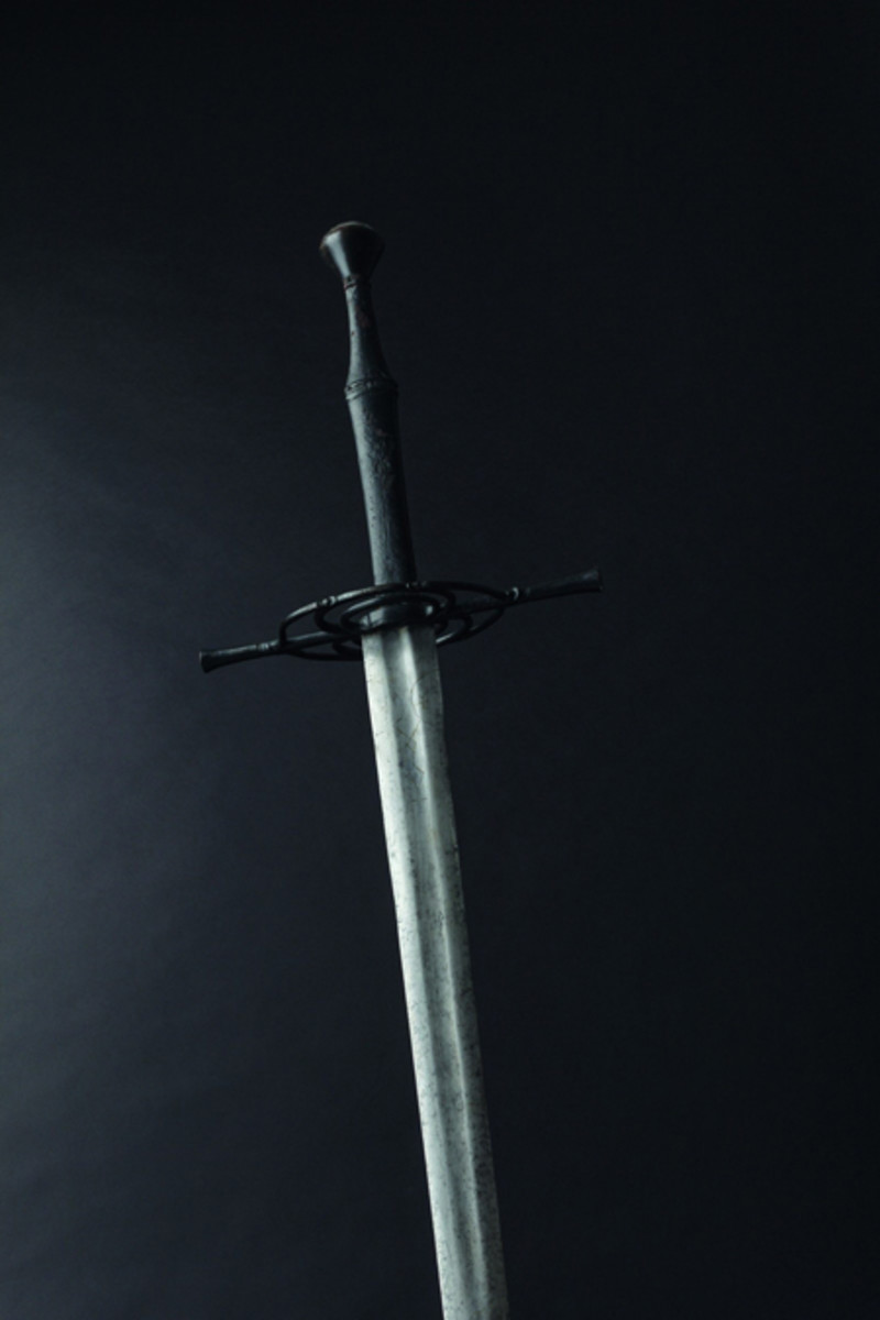 A Swiss/South German late Gothic two-handed battle sword, circa 1510.