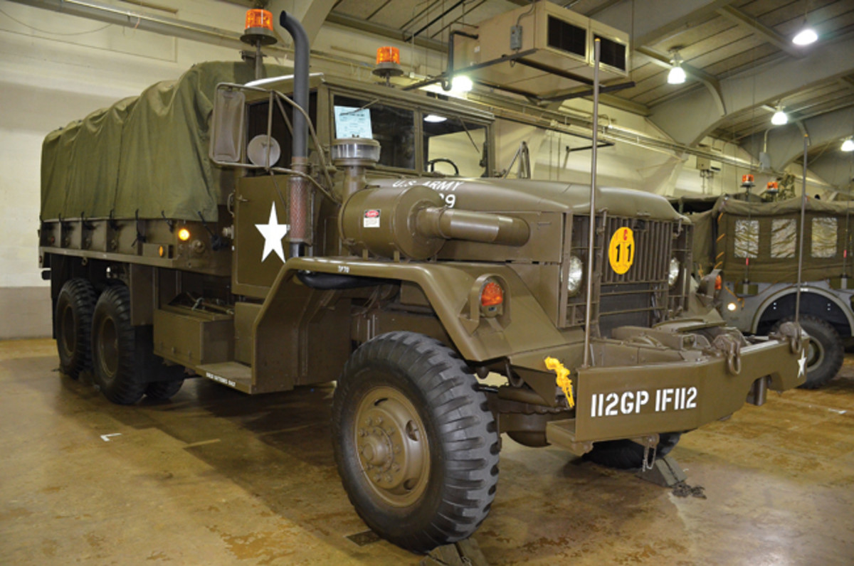 Motor Pool Veteran's Class Award - Robert Weissberg's 1972 AM General M54A2 W/W.