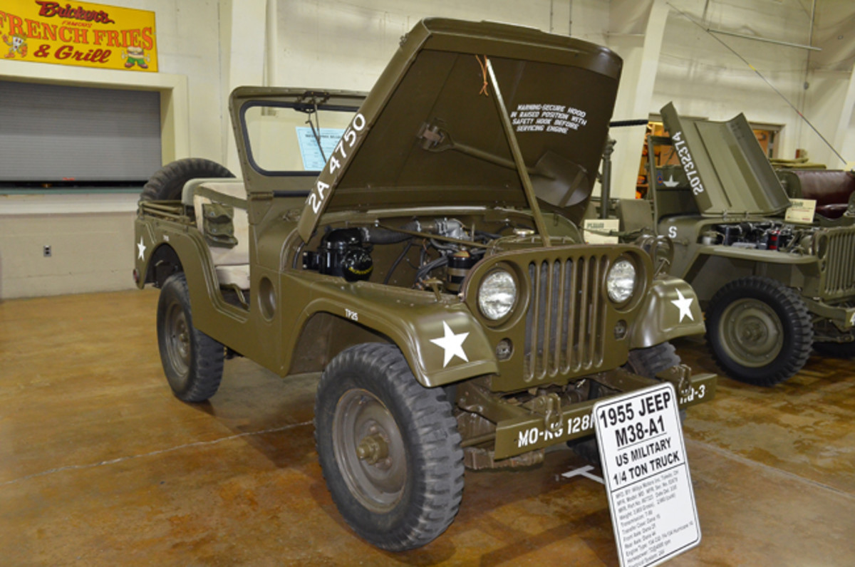 Motor Pool Class Gold Award - John Smith's 1955 Willys-Overland M38A1.