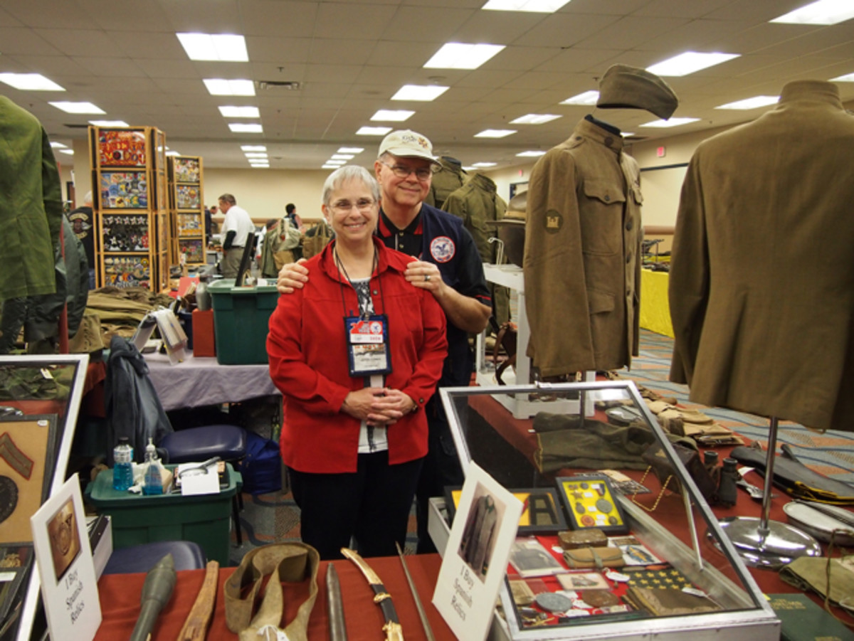 We'd be remiss if we didn't include a photo of Bill Combs and his wife Joyce. Bill is the man who makes this show possible and the hobby should be grateful that it is in some capable hands.