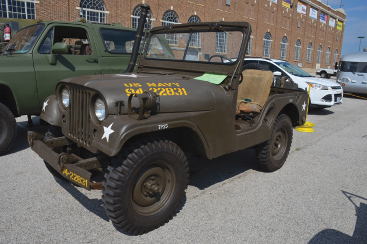 Motor Pool Class Bronze Award - Jeff Zenger's 1954 Willys M38A1.