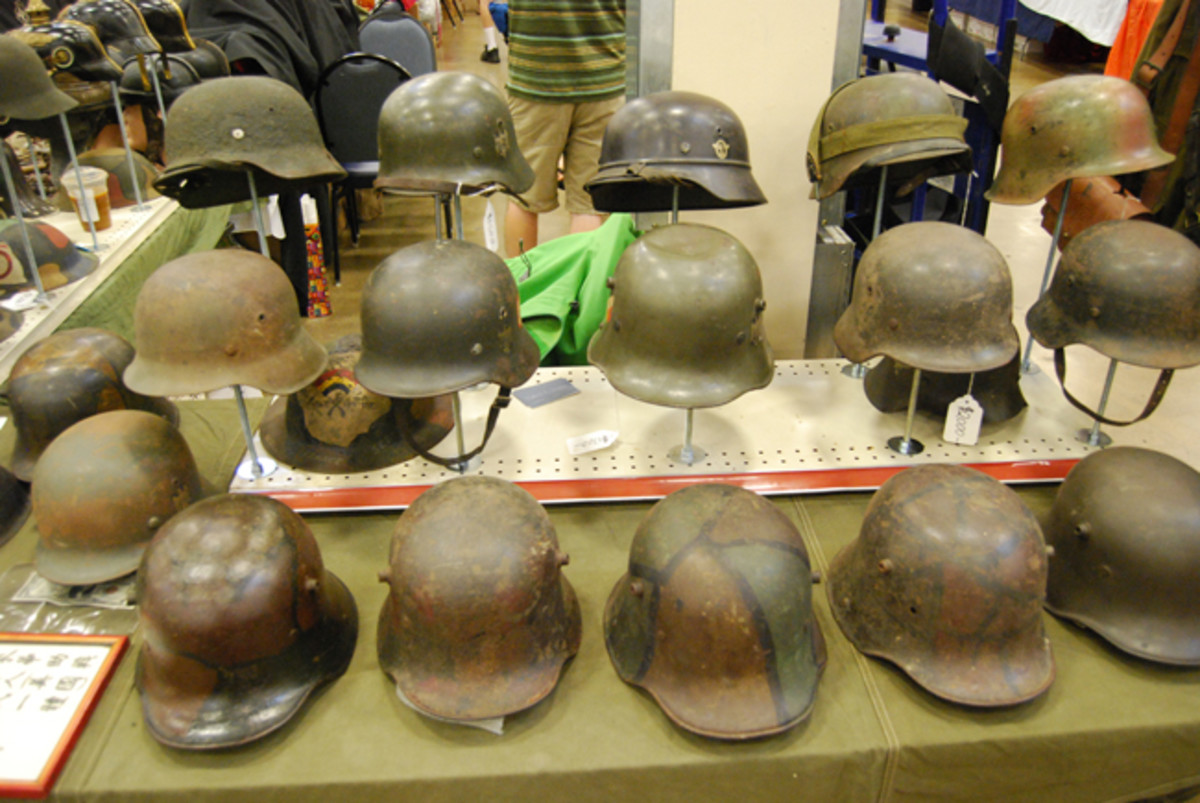 The MAX is still the place to find quality German helmets.