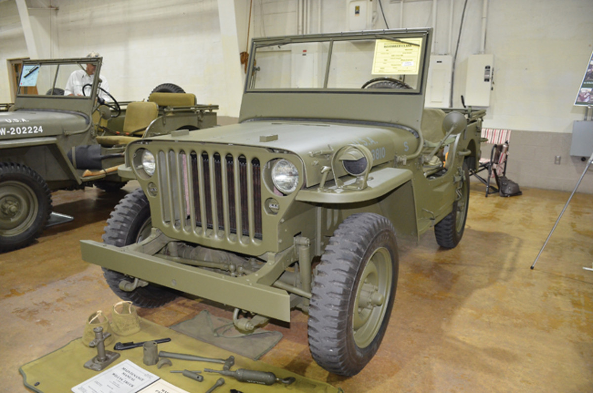 Restored Class Gold Award - Richard Grim's 1943 Willys MB