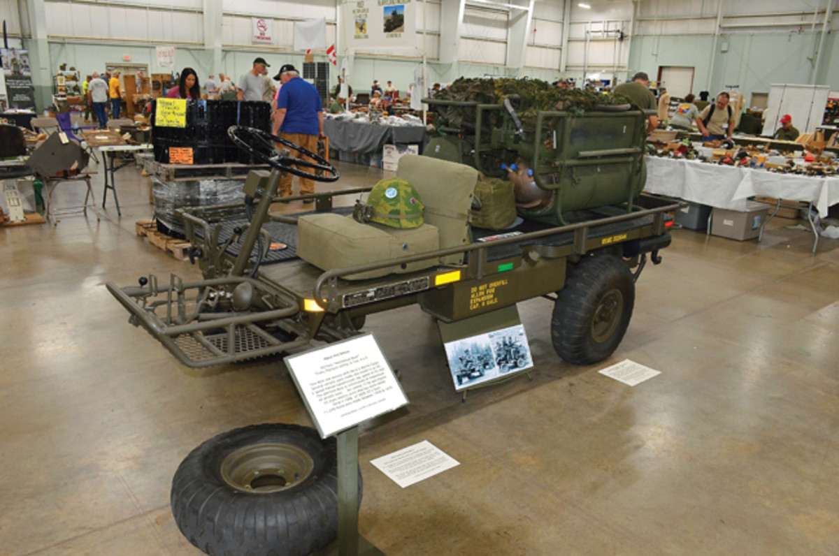 Motor Pool Class Gold Award - Brock Jolliffe's 1966 BMY-Harsco M274A2.