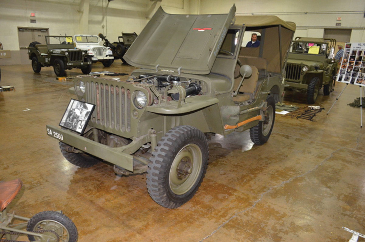 Restored Class Silver Award - Howard Miller's 1943 Willys MB.